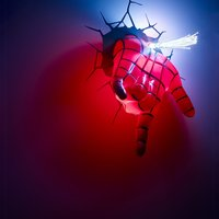 Marvel Spiderman 3D Hand Wall Mounted Deco Light