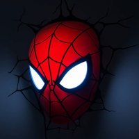Spiderman Face 3D Deco Light