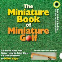 The Miniature Book of Miniature Golf - Golf Gifts