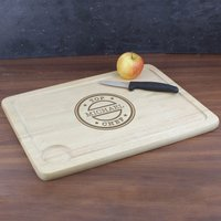 Personalised Top Chef Carving Board - Chef Gifts