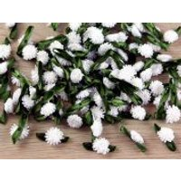 Mini Flower Clusters White