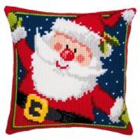 Vervaco Cross Stitch Kit Cushion Kit Father Christmas