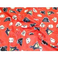 Camelot Fabrics Angry Birds Star Wars Heads of Empire Quilting Fabric  Red