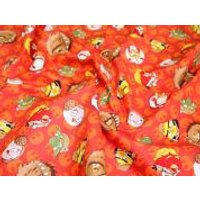 Camelot Fabrics Angry Birds Star Wars Rebel Leaders Quilting Fabric  Orange