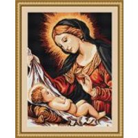 Luca-S Counted Cross Stitch Kit Mother & Child
