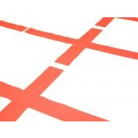 St George's Cotton Flag Fabric  Red & White