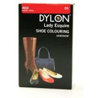 Dylon Lady Esquire Shoe Colouring Dye  Red