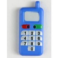 'Dill Mobile Phone Buttons  Blue