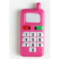 'Dill Mobile Phone Buttons  Pink