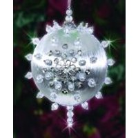 Design Works Christmas Bauble Craft Kit Icy Night