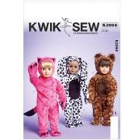 'Kwik Sew Crafts Sewing Pattern 3966 Doll Clothes Onesies