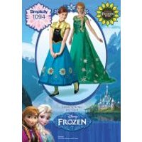 Simplicity Ladies Sewing Pattern 1094 Disney Frozen Dresses