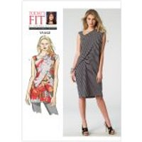 Vogue Ladies Easy Sewing Pattern 1442 Tunic Top & Dress