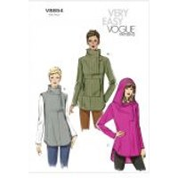 Vogue Ladies Easy Sewing Pattern 8854 Tunic Tops
