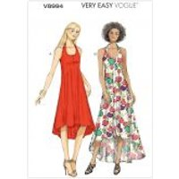 Vogue Ladies Easy Sewing Pattern 8994 Pullover Lined Dresses