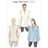 Vogue Ladies Easy Sewing Pattern 9085 Shirt Blouse Tops
