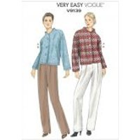 Vogue Ladies Easy Sewing Pattern 9139 Jacket & Pants