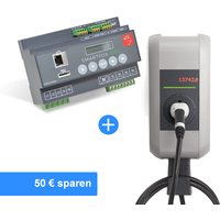 Solar Paket mit KEBA KeContact P30 Wallbox
