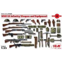 WWI US Infanterie Waffen und Zubehör