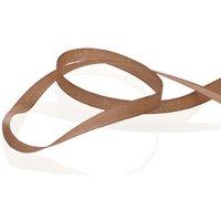 Stickband, dunkelbraun, 4 mm