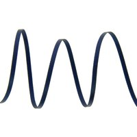 Doppelseitiges Satinband 3mm Marineblau