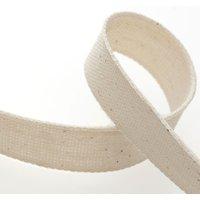 Band aus Baumwolle - Naturfarben