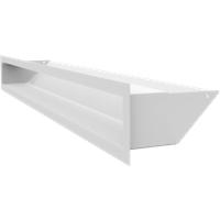 muenkel design Lufteinlässe für Opti-myst Einbaukamine: 800 mm - Weiß