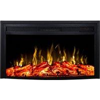 Noble Flame Dover [geschwungener Elektro Kamineinsatz]: 660