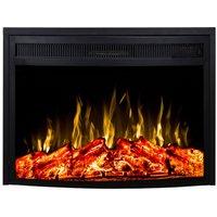 Noble Flame Dover [geschwungener Elektro Kamineinsatz]: 590