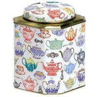Time for Tea Domed Tea Caddy