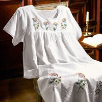 Fiore Embroidered Nightdress