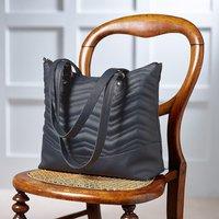 Zigzag Moderne Leather Handbag
