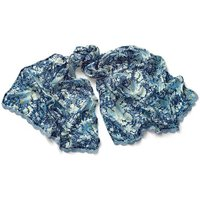 19th­Century Floral Scarf