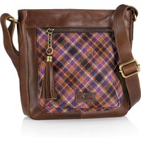 Islay Tweed Cross­body Bag