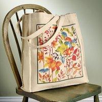 Autumnal Cotton Tote Bag