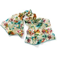 Birds Amongst Branches Cotton Scarf