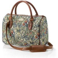 Golden Lily Tapestry Holdall
