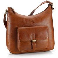 Cedarwood Leather Handbag