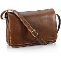 Tan Leather Across Body Bag