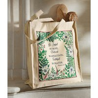Be Joyful Cotton Tote Bag
