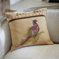 Pheasant Tapestry Cushion