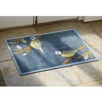 Washable Blue Tit Doormat
