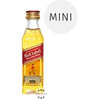Johnnie Walker Red Label  Mini (40 % Vol., 0,05 Liter)