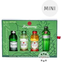 Tanqueray Exploration Pack Gin-Miniaturenset (41,2 - 47,3 % Vol., 0,2 Liter)