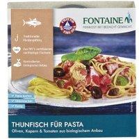 Thunfisch mit Olive, Kapern & Tomate für Pasta