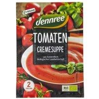 Tomatencremesuppe im Beutel