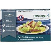Sardinen ohne Haut in Sonnenblumenöl