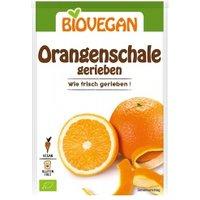 Orangenschalen, gerieben