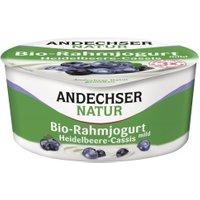 Rahmjoghurt mit Heidelbeere & Cassis
