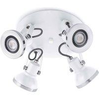 4 Light Adjustable Ceiling Spotlight White, GU10